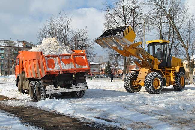 Автоматическая уборка снега с крыши
